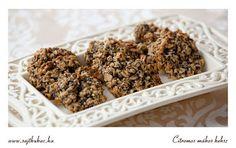 Oatmeal Cookies, Biscuits, Cereal, Seeds, Paleo, Lemon, Breakfast, Poppy, Food