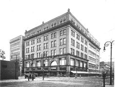 The LaSalle Apartments in its previous life - as the Lasalle & Koch Department store