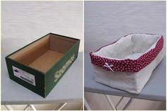 Ne dobjuk ki! Dekoratív tárolók készíthetők cipős- és kartondobozból | Életszépítők