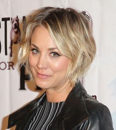 Click to see all the phases Kaley Cuoco's hair went through when she was growing it out from a pixie cut - she managed to avoid all the awkward stages.