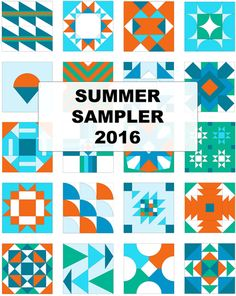In Progress – Summer Sampler 2016 – Block 10