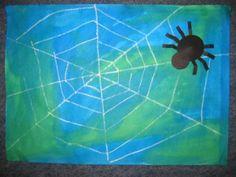 spinnenweb - thema kriebelbeestjes - Lespakket