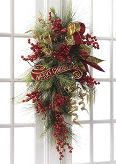 Decorated Swags Wreaths Fresh Christmas