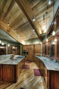 I'll never live in a house this big but I love this kitchen