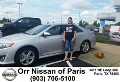 https://flic.kr/p/GpzRp1 | Happy Anniversary to Diane on your #Toyota #Camry from Mary Vincil at Orr Nissan of Paris! | deliverymaxx.com/DealerReviews.aspx?DealerCode=J476