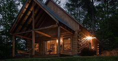 Bryson City, NC - Rock Creek Cabins - http://www.rockcreekcabins.com - awesome place!