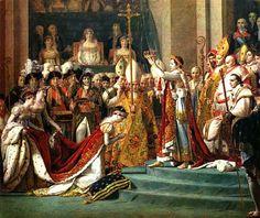 Jacques Louis David (1748-1825)  Le Sacre de Napoléon et couronnement de Joséphine