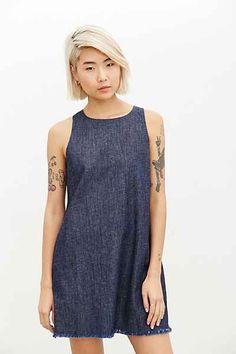 Courtshop Julia Denim Shift Dress Really want this