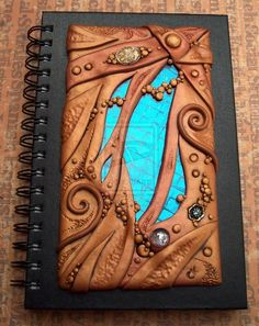 Art Glass and Clay Journal by ... | Creative Polymer Clay ideas