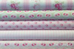 Paquete de telitas coordinadas ❤ Shabby Chic Pink