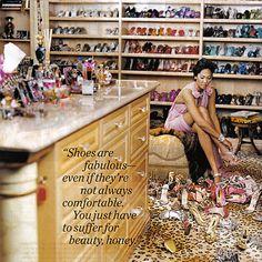 Kimora Lee Simmons' Boudoir via MyLittleBoudoir.com