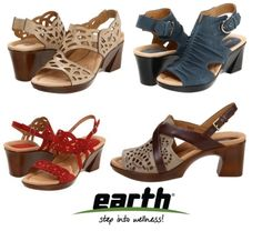 earth shoes, 70's