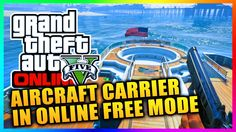 GTA 5 Heists DLC - Access Aircraft Carrier & Yacht In FREE MODE Tutorial In GTA Online! (GTA V)