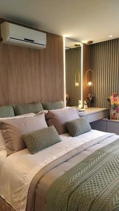 Small Room Design Bedroom, Ceiling Design Living Room, Luxury Bedroom Design, Bedroom Furniture Design, Home Room Design, Home Interior Design, Bad Room Design, Master Bedroom Interior, Bedroom Decor For Couples