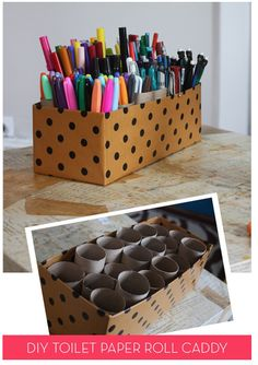 13 in 2013: Pen and marker storage | Craft Storage Ideas