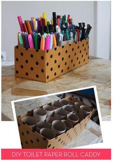 13 in 2013: Pen and marker storage | Craft Storage Ideas