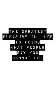 the greatest pleasure...