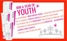 Win a YEAR of youth with @StriVectin's anti-aging creams . Enter here!!