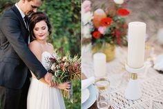 modern organic wedding inspiration - photo by Jenna McElroy http://ruffledblog.com/organic-modern-wedding-inspiration