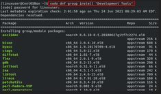 """""""Cara Install GCC (Development Tools) pada CentOS 8"""" GNU Compiler Collection (GCC) adalah kumpulan compiler dan library untuk bahasa pemrograman C, C++, Objective-C, Fortran, Ada, Go , dan D. Banyak proyek sumber terbuka, termasuk kernel Linux dan alat GNU, dikompilasi menggunakan GCC. Cara Install GCC (Development Tools) pada CentOS 8 - InstallGCC sudo dnf group install """"Development Tools"""" - Install #Cenots8 #devops #GCC #install"""
