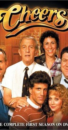Created by James Burrows, Glen Charles, Les Charles.  With Ted Danson, Rhea Perlman, John Ratzenberger, George Wendt. The regulars of the Boston bar Cheers share their experiences and lives with each other while drinking or working at the bar where everybody knows your name.