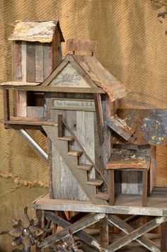 Love this cool bird house