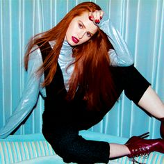 Madelaine Petsch for Marie Claire.
