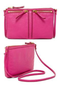 Cute, Pink Wallet with a purse strap