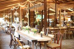 Farm table galore!  Vinewood Plantation | Sydney + Seth's Wedding was pure Rustic Elegance - Vinewood Plantation