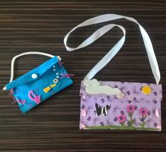 Kids purses from foam sheets #fun #kids #crafts