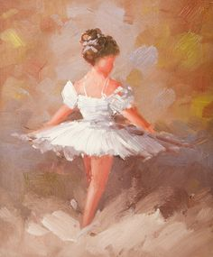 High Quality Original Painting Hand Paint Oil on Canvas 8x10 inches Ballerina   eBay