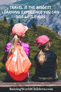 Traveling is the Biggest Learning Experience You Can Give Little Kids - Raising World Children Magazine Cover Template, Singing In The Car, Difficult Conversations, Our Kids, Travel With Kids, Kids Learning, Raising, Traveling, Big