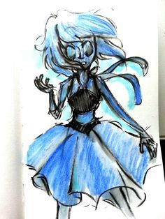 Cool Lapis Lazuli art! Steven Universe