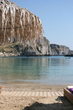 The Explorer: St Paul's Bay, Lindos, Greece
