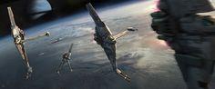 Art by #RobertoRobert.  #starwars #sciencefiction #scifi