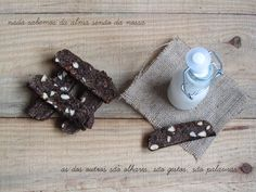 carob, almond and fig biscotti