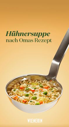 Hühnersuppe nach Omas Rezept Chicken soup after Grandma's recipe Related posts: Best Chicken Soup Recipe Quick Soup Recipes, Chicken Soup Recipes, Healthy Chicken Recipes, Keto Chicken, Easy Crockpot Soup, Easy Vegetable Soup, Clean Eating Soup, Instant Pot, Wasting Time