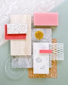 A moodboard is always an inspiration to interior design! Mood Board Interior, Colorful Interior Design, Material Board, Colour Schemes, Color Palettes, Color Combinations, Colour Board, Mood Boards, Color Inspiration