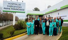 Zabaleta transformó el ex UPA 24 hs, en el hospital municipal Papa Francisco