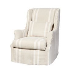 Cisco Brothers Sonoma Chair Slipcovered, available in swivel