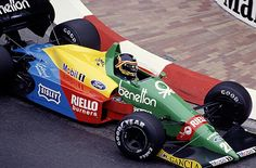 Thierry Boutsen BENETTON B188 Ford DFR (NA3.5L-V8)