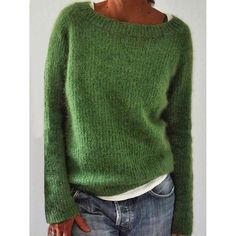 Casual Sweaters, Long Sweaters, Pullover Sweaters, Sweaters For Women, Pullover Pullover, Cheap Sweaters, Knit Sweaters, Black Sweaters, Loose Sweater