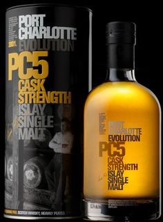 Port Charlotte PC5. Sometimes I dwell slightly on the rarity of this bottle, but then I remember how bloody awesome it - and its successors - were, and I have no regrets. The current price on the Bruichladdich site makes me laugh, though.
