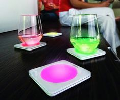 Color Changing Coasters | DudeIWantThat.com