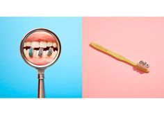 #Pandora #jewellery by Ramses Radi for VASHION #editorial #campaign #product #photography #mouth #pills #magnifier #tongue  #toothbrush #toothpaste #luxury #pop  http://www.ramsesradi.com
