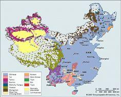 Las 56 etnias de China