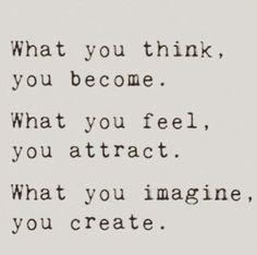 Think, feel, and imagine. (Via @victoriabeckham on Instagram) #JustSayin