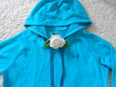 UNDER ARMOUR WOMENS HOODIE M~UA CATALYST SEMI-FITTED GYM WORKOUT STUDIO JACKET M