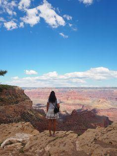 California road trip – Until Grand Canyon South Rim