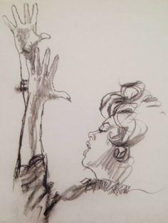 Actor-Singer Judy Garland - Drawing/illustration art by Bob Peak